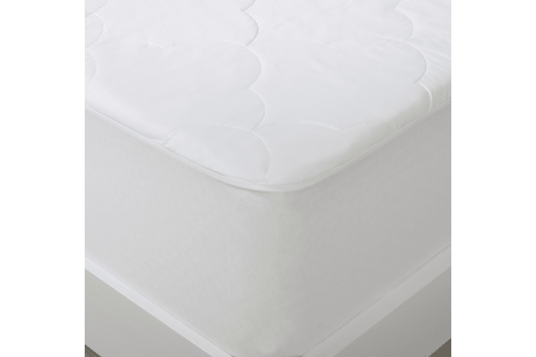 Cotton Filled Mattress Protector Super King Bed