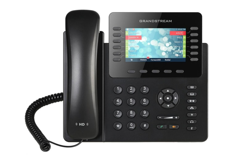 Grandstream Networks GXP2170 IP phone Wired handset LCD 12 lines