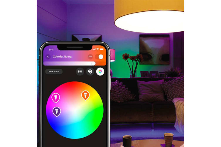 Philips Hue Wi-Fi Starter Bridge/Dimmer Switch White/Colour B22 LED Light Bulb