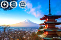 JAPAN: 9 Day Impressions of Japan Tour Including Flights For Two