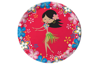Creative Converting Lets Hula 9 Inch Plates (Pack of 8) (Multicoloured)
