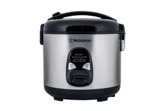 Westinghouse 10 Cup Rice Cooker - Stainless Steel
