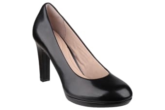 Rockport Womens/Ladies Seven To 7 Ally Plain Slip On Heeled Pumps (Black)