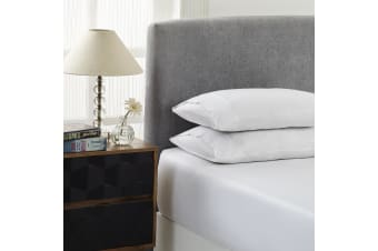 Royal Comfort 1500 Thread Count Combo Sheet Set Cotton Rich Premium Hotel Grade - Double - White