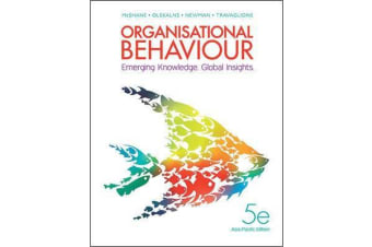Organisational Behaviour - Emerging Knowledge. Global Insights.