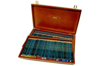 DERWENT PENCILS ARTIST WOODEN BOX 72