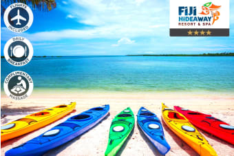 FIJI: 5 Nights at Fiji Hideaway Resort & Spa Vuda Including Flights for Two