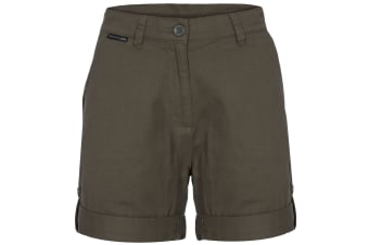 Trespass Womens/Ladies Rectify Adventure Shorts (Moss) (L)