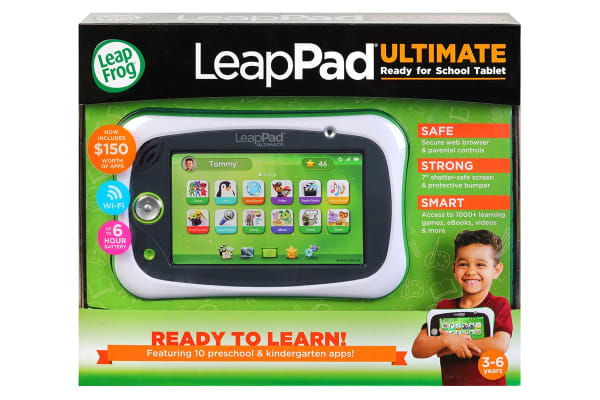 LeapFrog LeapPad Ultimate with Get Ready for School Bundle (Green)