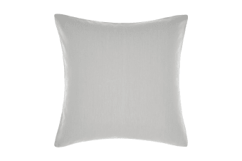 Linen House Nimes Continental Sham Pillowcase Cover (Grey) (65 x 65cm)