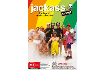 Jackass The TV and Movie Collection DVD Region 4