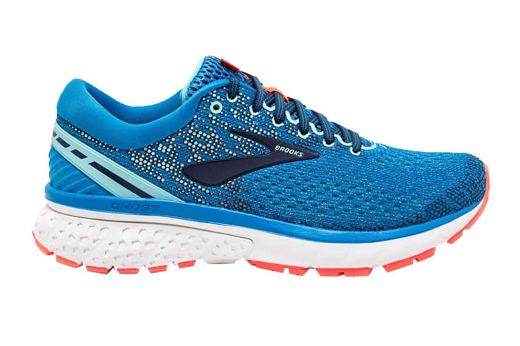 Brooks Women's Ghost 11/FA18 (Blue/Navy/Coral, Size 8.5)