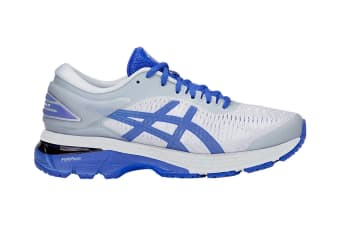 ASICS Women's Gel-Kayano 25 Lite-Show Running Shoe (Mid Grey/Illusion Blue Size 5)