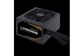 Gigabyte P650B 650W ATX PSU Power Supply 80+ Bronze 89% 120mm Fan Mesh Braided Cables Single +12V Rail Japanese Capacitors >100K Hrs MTBF