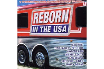 Various Artists - Reborn in the USA: 17 Unforgettable tracks MUSIC CD NEW SEALED
