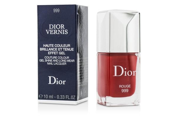 Christian Dior Dior Vernis Couture Colour Gel Shine & Long Wear Nail Lacquer - # 999 Rouge (10ml/0.33oz)