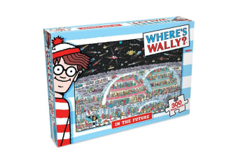 300pc Where's Wally In The Future Jigsaw Puzzle Educational Kids/Child 6y+ Toy