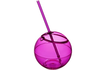 Bullet Fiesta Ball And Straw (Pack of 2) (Pink) (23 x 12 cm)