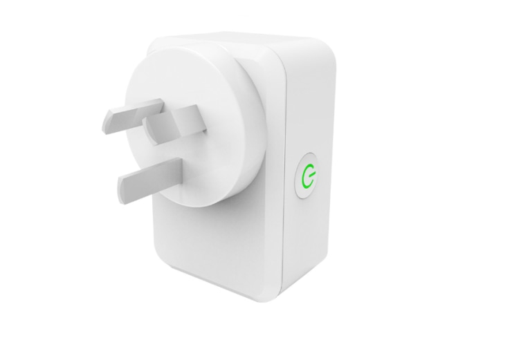Upgraded WiFi Smart Socket with Timer Function,Australian Standard Smart Plug with Energy Monitoring,Wireless Mobile Phone APP Remote Control,Compatible with Alexa, Google Home and IFTTT
