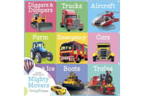 First Steps Chunky Board Books - Mighty Movers