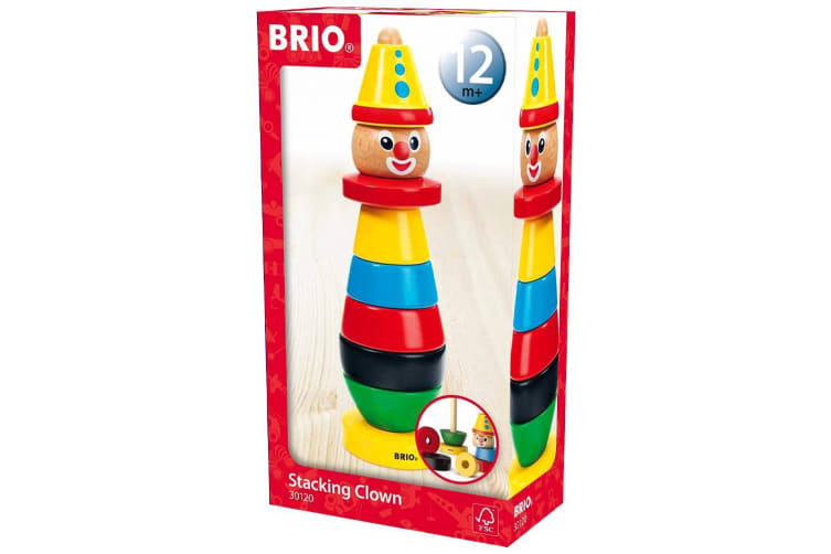 Brio Early Learning Stacking Clown