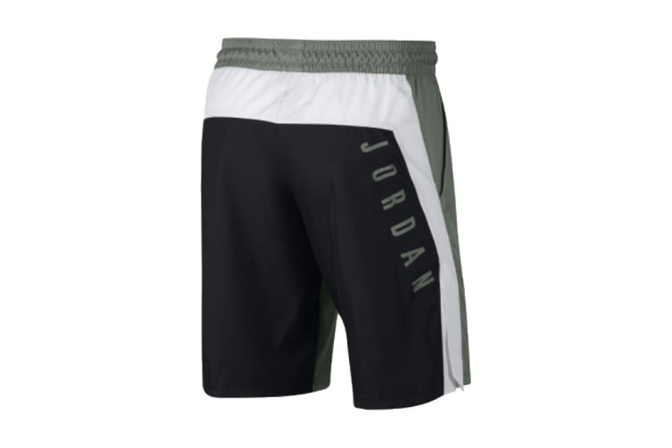 Nike Jordan Alpha Dri-FIT Shorts (Grey/White, Size M)