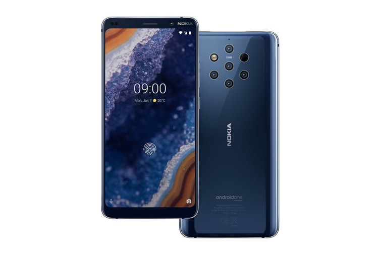 Nokia 9 PureView (128GB, Midnight Blue)