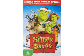 Shrek the Halls DVD Region 4