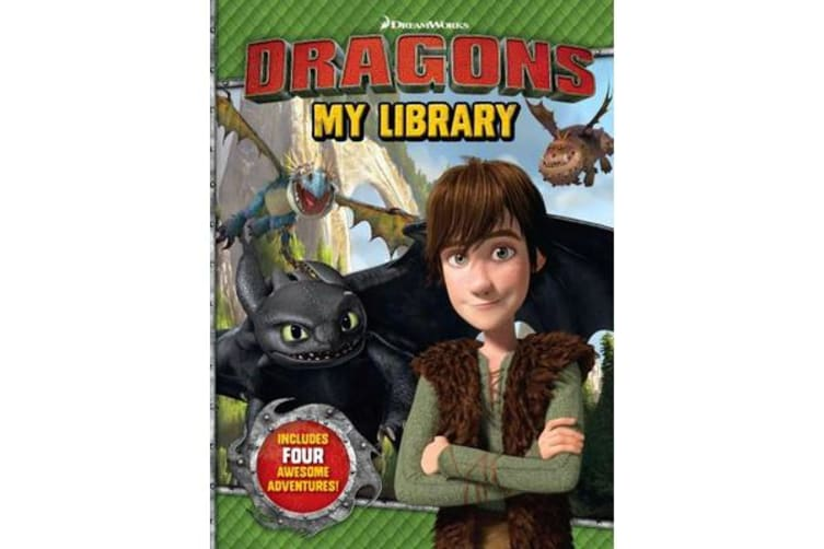 Dragons My Library - 4 Book Slipcase