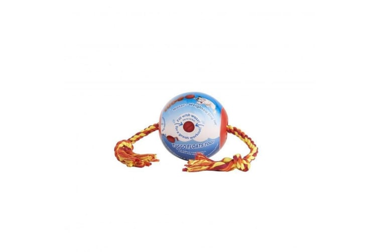 Sharples Roped Tuggo Ball (Blue/Yellow/Red) (One Size)