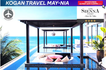 PHUKET: 7 Nights at Cape Sienna Phuket Gourmet Hotel & Villas Including Flights for Two