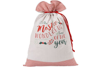 Ladelle Wonderful Santa Sack