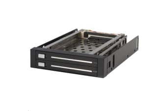 STARTECH HSB220SAT25B 2 Drive 2.5in Trayless SATA Mobile Rack