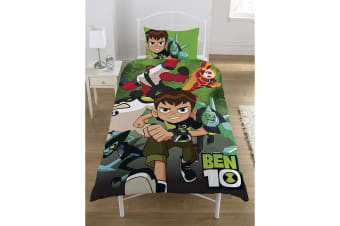 Ben 10 Go Hero Panel Duvet Set (Multicoloured) (Single)