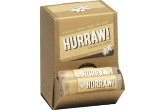 Hurraw! Lip Balm Vanilla Bean 4.3g x 24 Display