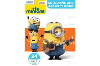 Minions Colouring and Activity Book
