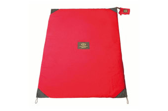 Monkey Mat Mini Outdoor Beach/Picnic Travel Folding/Pocket Camping Rug Red Coral