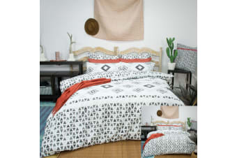 Imala Reversible Quilt Cover Set by Apartmento