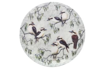 Maxwell & Williams Cashmere Birds of Australia Plate 20cm Kookaburras Treetop