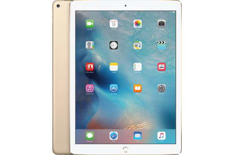 "As New Apple iPad PRO 12.9"" 1st Gen 128GB Wifi + Cellular Gold (Local Warranty, 100% Genuine)"