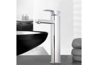 Cefito WELS Mixer Tap Bath Basin Taps Counter Faucet Square Tall Vanity Brass