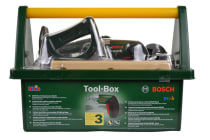 Bosch Toy Tool Box with Battery Operated Drill & More