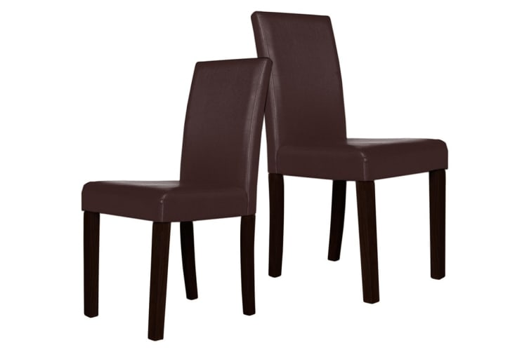Set of 2 Montina Dining Chair (Brown)