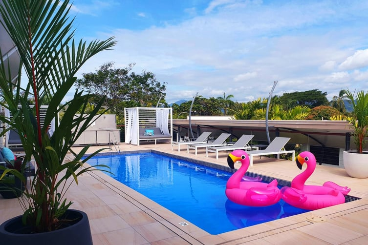 PORT DOUGLAS: 5 Nights at Saltwater Luxury Apartments Including Flights for Two (Departing BNE)