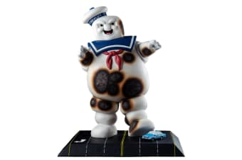 Ghostbusters Stay Puft Statue Burnt Variant
