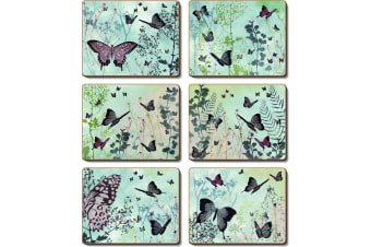 Cinnamon Spring Kaleidoscope Placemat Set of 6