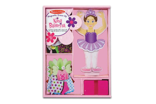 Melissa & Doug Nina Ballerina Magnetic Dress-Up Kit