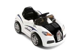 Kids Ride on Car with Remote Control (White)