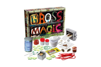 Truly Gross Revolting Magic Tricks Kit: 8 Tricks & Pranks