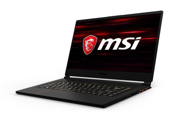 "MSI 15.6"" GS65 Stealth Thin 8RE FHD 144Hz 7ms Core i7-8750H GTX1060 6GB 256GB SSD 16GB RAM Gaming Notebook (8RE-061AU)"